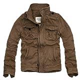 アバクロンビー&フィッチ Abercrombie&Fitch メンズ M-65タイプ ミリタリージャケット Sentinel Jacket 並行輸入品 カーキ (XL)