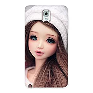 Ajay Enterprises Innocent Angel Doll Multicolors Back Case Cover for Galaxy Note 3