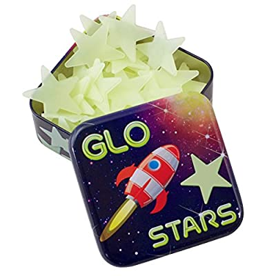 Cheatwell Games Glow in the dark Glo Stars Stickers