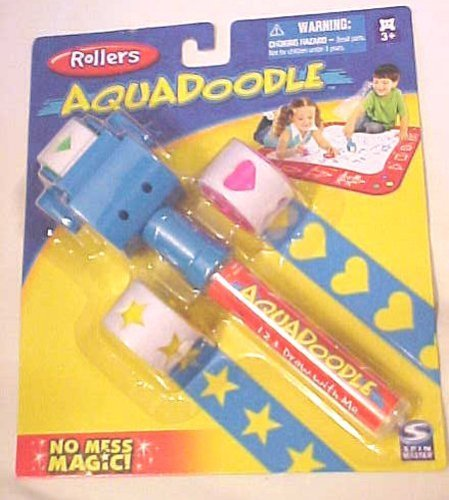Aqua Doodle Aquadoole Stamps Stampers Rollers - 1