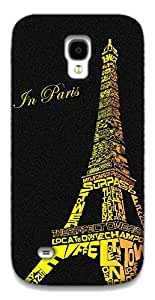 The Racoon Lean Love in Paris hard plastic printed back case / cover for Samsung Galaxy S4 Mini