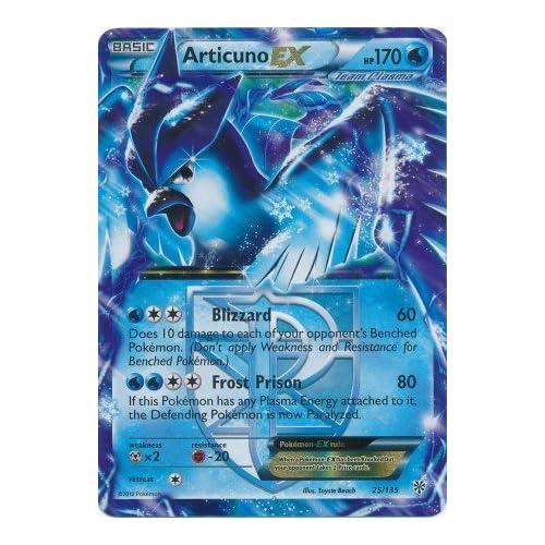 Amazon.com: Pokemon - Articuno-EX (25) - Black and White Plasma Storm