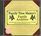 Family Tree Makers' Family Archives:…
