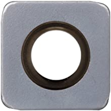 Sandvik Coromant COROMILL Carbide Milling Insert, R210 Style, Square, GC1010 Grade, TiAlN Coating