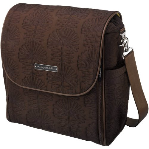 Petunia Pickle Bottom Embossed Boxy Backpack Hotel De Ville Stop front-1012690