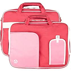 Vg Inc Tablet Messenger Bag (Pink)