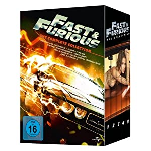 51wxsVHi6jL. SL500 AA300  Fast & Furious   The Complete Collection [5 DVDs] für nur 21,97€ inkl. Versand