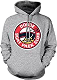 Dodge Scat Pack Club, Super Bee, Charger R/T, Car Club Hooded Sweatshirt, NOFO Clothing Co. XXL LtGray