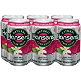 Hansen's Soda Cherry Vanilla Creme, 12-Ounce Cans (Pack of 24)