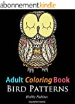 Adult Coloring Books: Bird Sample Pat...