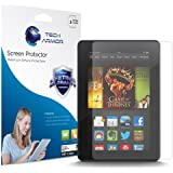 Tech Armor Kindle Fire HDX 7 High Defintion (HD) Clear Screen Protectors - Maximum Clarity and Touchscreen Accuracy [3-Pack] Lifetime Warranty