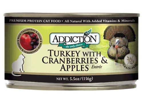 Addiction Turkey With Cranberries & Apples Entrée