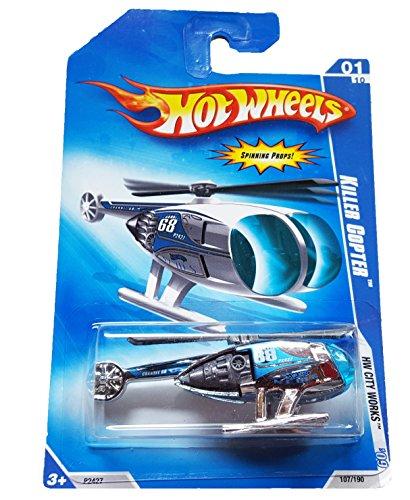Hot Wheels HW City Works '09 1/10 Killer Copter - 1