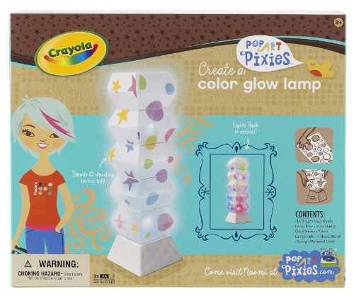 Crayola Pop Art Pixies Color Glow Lamp
