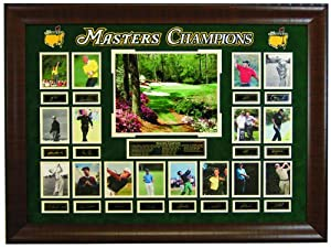 The Masters Golf Champions- Multiple Green Jackets Framed Collage by Champion