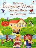 Everyday Words Sticker Book in German (Everyday words sticker books) (Usborne Everyday Words Sticker Books)