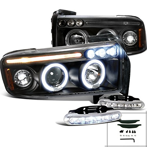 2008 2009 2010 FORD SUPER DUTY CHROME FRONT BUMPER FOG LIGHTS LAMP+10K XENON HID