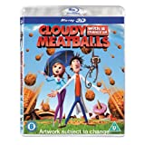 Cloudy with a Chance of Meatballs [Blu-ray 3D + Blu-ray] [2010] [Region Free]by Bill Hader
