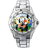 Fashion Men Watch PE110 Goofy Diving Stainless Steel Wrist Watch gift kid