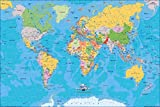 Poster World Map 1046