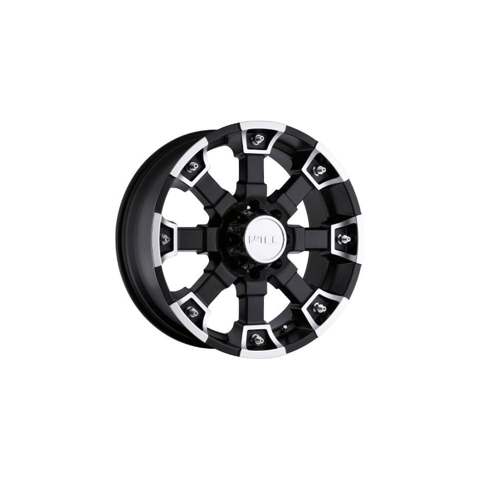 V Tec Brutal 20 Matte Black Wheel / Rim 8x170 with a 18mm Offset and a 126 Hub Bore. Partnumber 392 2970MB18