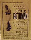 img - for Buster Rothman Association, Al Woods- Hoboken Jazz King, Blackface Comedian Handbill, Bayonne NJ 1921 book / textbook / text book