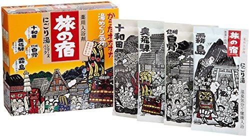 여행의 숙소 에 # 탕시리즈 팩 도와다・오쿠히다・키리시마×각3 포신슈우 시라호네×4봉지 [/] (09-25)
