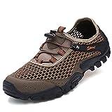 Looka ハイキングシューズ メンズ/レディース トレッキングシューズ 登山靴 アウトドア キャンプ シューズ 滑りにくい スリッポン スポーツ ローカット 通気性 カジュアル ランキングお取り寄せ