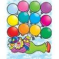 Scholastic Clown Birthdays Chart (TF2154)