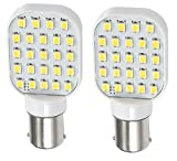 Gold Stars 11568305 LED Replacement Bulb 1156 Base 250 LUM 12 or 24v Natural White (2)
