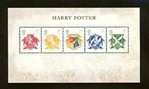 Harry Potter Collectible Postage Stamp UK