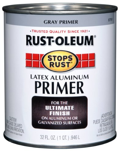 Rustoleum Countertop Paint Prep : RUST-OLEUM 8781502 Gray Alum Primer Qt