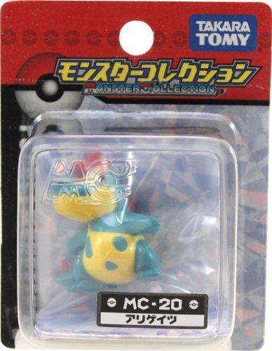 """Takaratomy Croconaw (MC-20): Pokemon Monster Collection 2"""" Mini Figure - 1"""