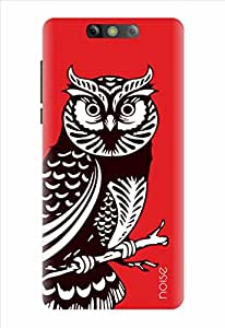 Noise Printed Back Cover Case for Xolo Black