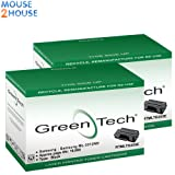 2 Extra High Capacity Black Samsung MLT-D205E Remanufactured Laser Toner Cartridge MLT-D205E/ELS Laser Toner Cartridge For use with Samsung ML-3312ND ML-3710D ML-3710ND ML-3712DW ML-3712ND SCX-5637FR SCX-5639FR SCX-5639FW SCX-5737FW Printers (10000 pages