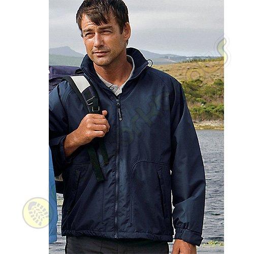 Regatta Windproof Mens HUDSON Waterproof Jacket - Bottle Green L [Apparel]