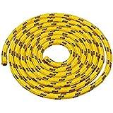 Seilspringen - Springseil 3 Meter - schönes Muster - gelb