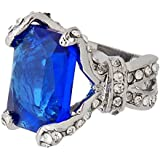 Kobwa(TM) Gem Black Butler Ciel Phantomhive Ring Cosplay Accessory with Kobwa's Keyring