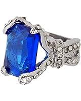 Kobwa(TM) Gem Black Butler Ciel Phantomhive Ring Cosplay Accessory with Kobwa's Keyring