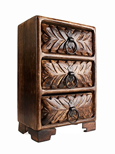 Christmas Gifts Antique Finish Hand Carved Wooden Armoire Furniture Home Decor front-67187