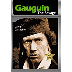 Gauguin the Savage [VHS Retro Style] 1980
