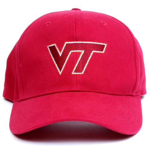 Ncaa Virginia Tech Hokies Led Light-Up Logo Adjustable Hat