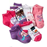 Disney Doc McStuffins 6-pack 1/4-Crew Socks - Toddler Girl's (2T-4T)