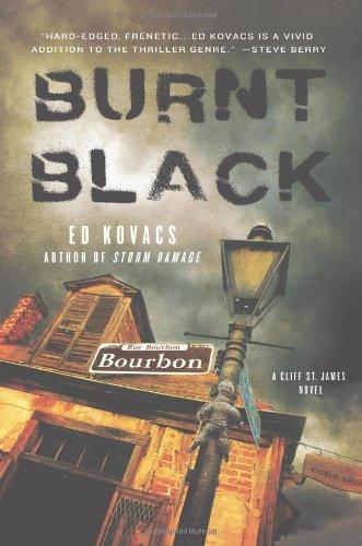 Image of Burnt Black: A Cliff St. James Novel (Cliff St. James Novels)
