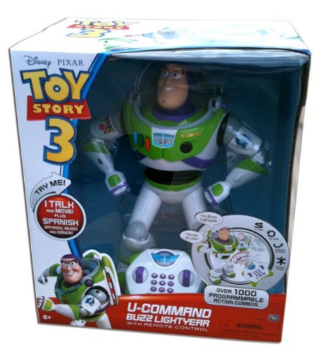 Disney / Pixar Toy Story 3 Exclusive UCommand Buzz Lightyear with Remote Control