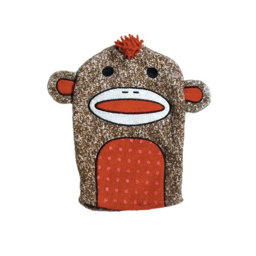 Adora Bathtime Sock Monkey Puppet - 1