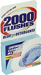 2000 Flushes 201025 Blue Cube Automatic Toilet Bowl Cleaner 3.5 OZ  (Pack of 1)