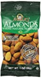 Madi K's Whole Natural Almonds, 1-Ounce Bags (Pack of 48)
