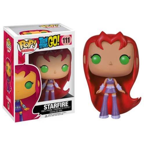 Funko POP TV: Teen Titans Go! - Starfire Action Figure - Funko Pop! Television