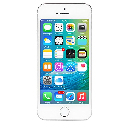 Apple iPhone 5s AT&T Cellphone, 16GB, Silver (Locked Iphone 5s At&t compare prices)